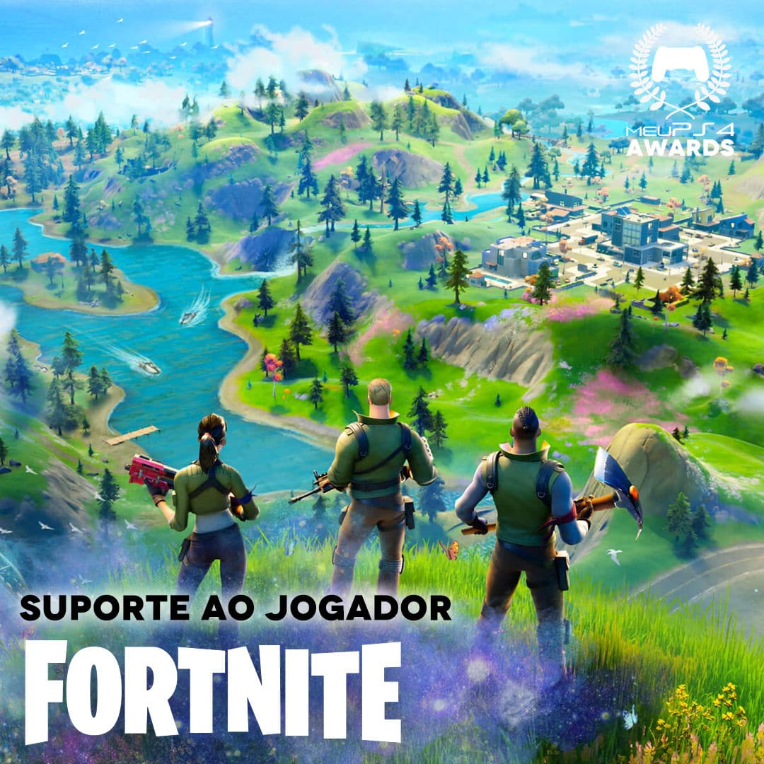 FORTNITE - SUPORTE AO JOGADOR