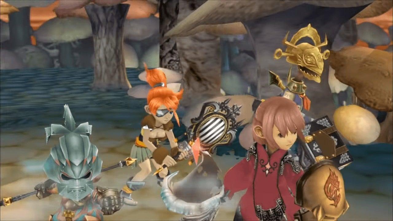 Final Fantasy Crystal Chronicles Remastered é adiado para o inverno