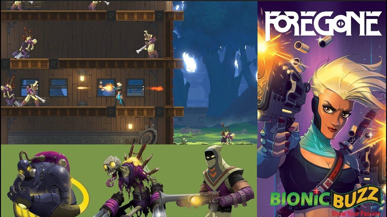 Foregone, jogo de ação parecido com Dead Cells, é anunciado
