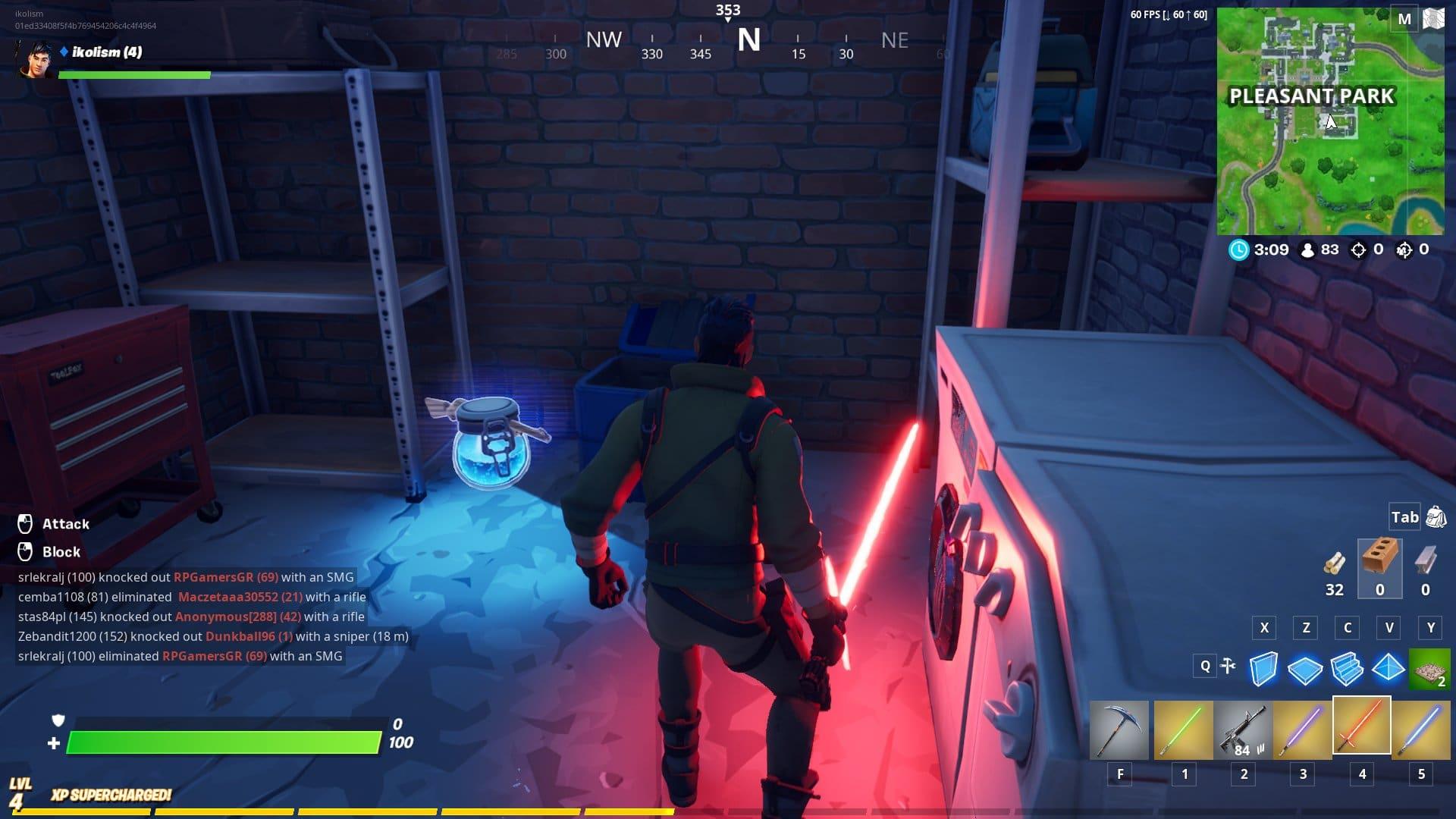 Como encontrar o Sabre de Luz de Star Wars em Fortnite