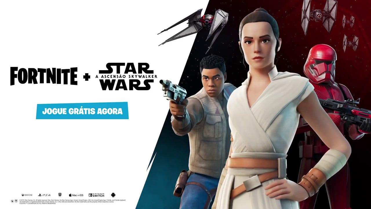 Confira todos os desafios de Star Wars em Fortnite Capítulo 2