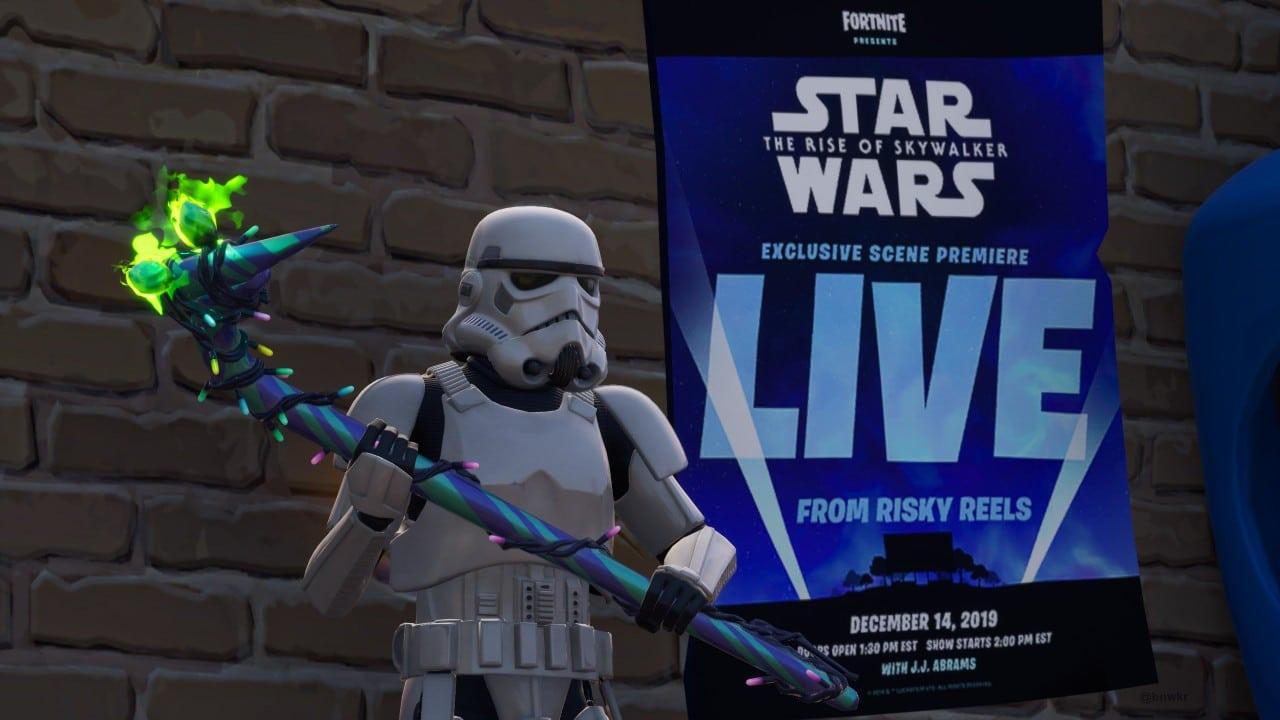 Clipe inédito de Star Wars: A Ascensão Skywalker aparecerá em Fortnite