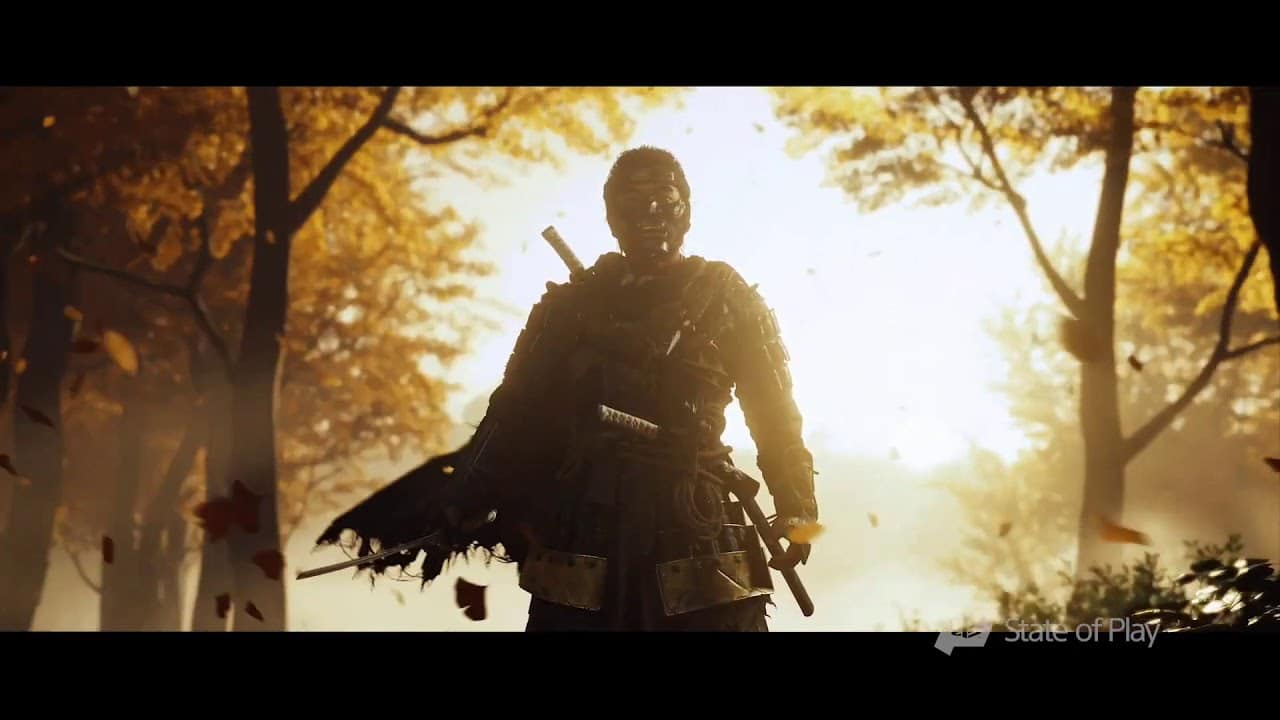 Ghost of Tsushima ganha teaser para o The Game Awards 2019