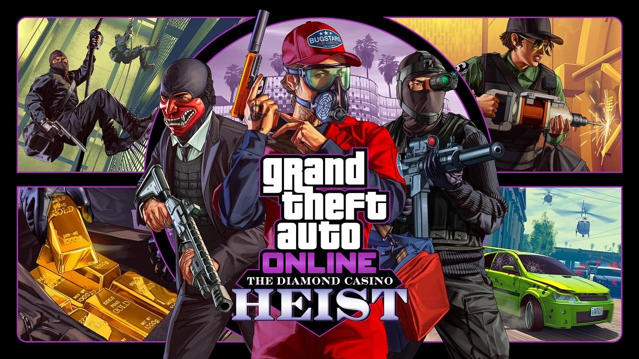 Rockstar anuncia The Diamond Casino Heist para GTA Online