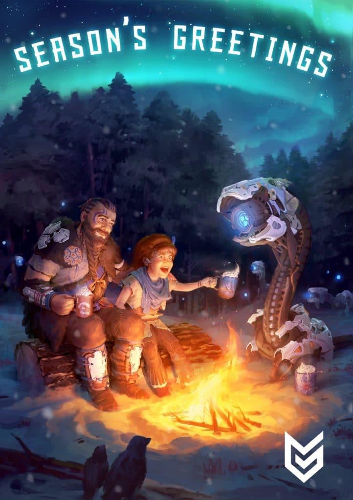 PlayStation libera cartões de natal de diversos games 3