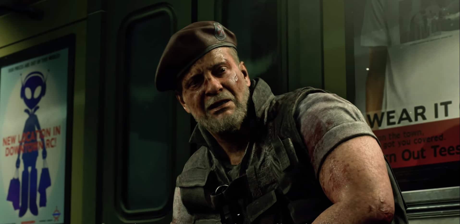 Compare os personagens de Resident Evil 3 Remake com o original 8
