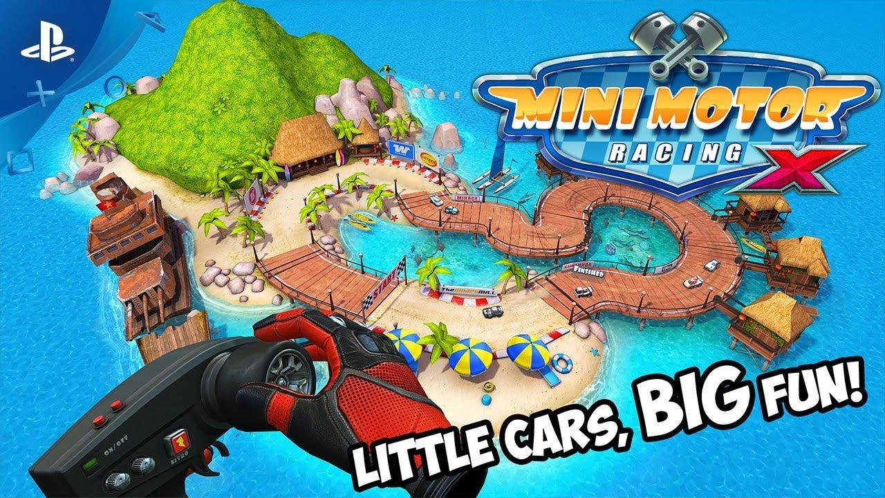 Mini Motor Racing X chega ao PS4 na próxima terça-feira (17)