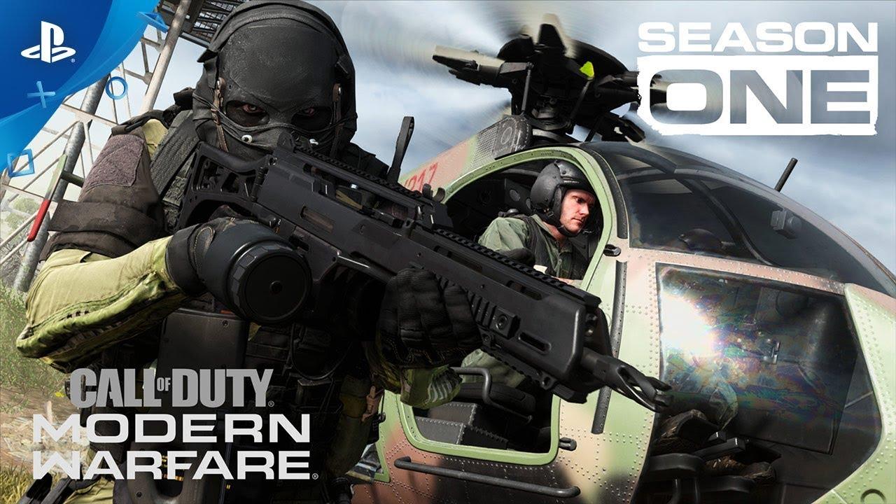 Primeira temporada de CoD: Modern Warfare já disponível