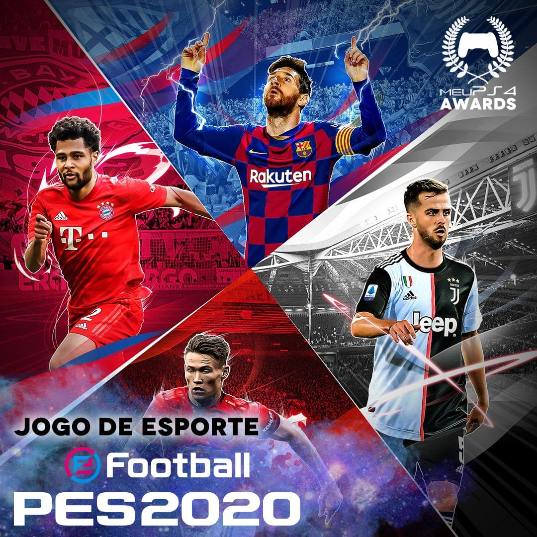 PES 2020 MELHOR JOGO ESPORTE
