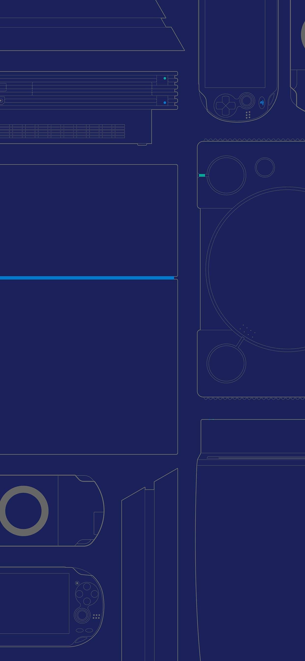 PlayStation oferece 8 papéis de parede em comemoração aos 25 anos 8