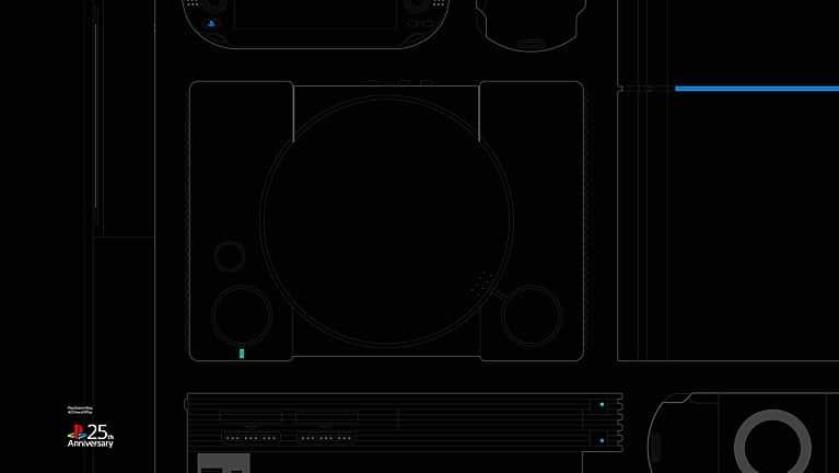 PlayStation oferece 8 papéis de parede em comemoração aos 25 anos 1