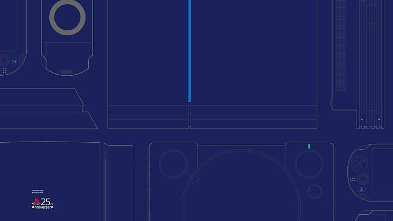 PlayStation oferece 8 papéis de parede em comemoração aos 25 anos 2