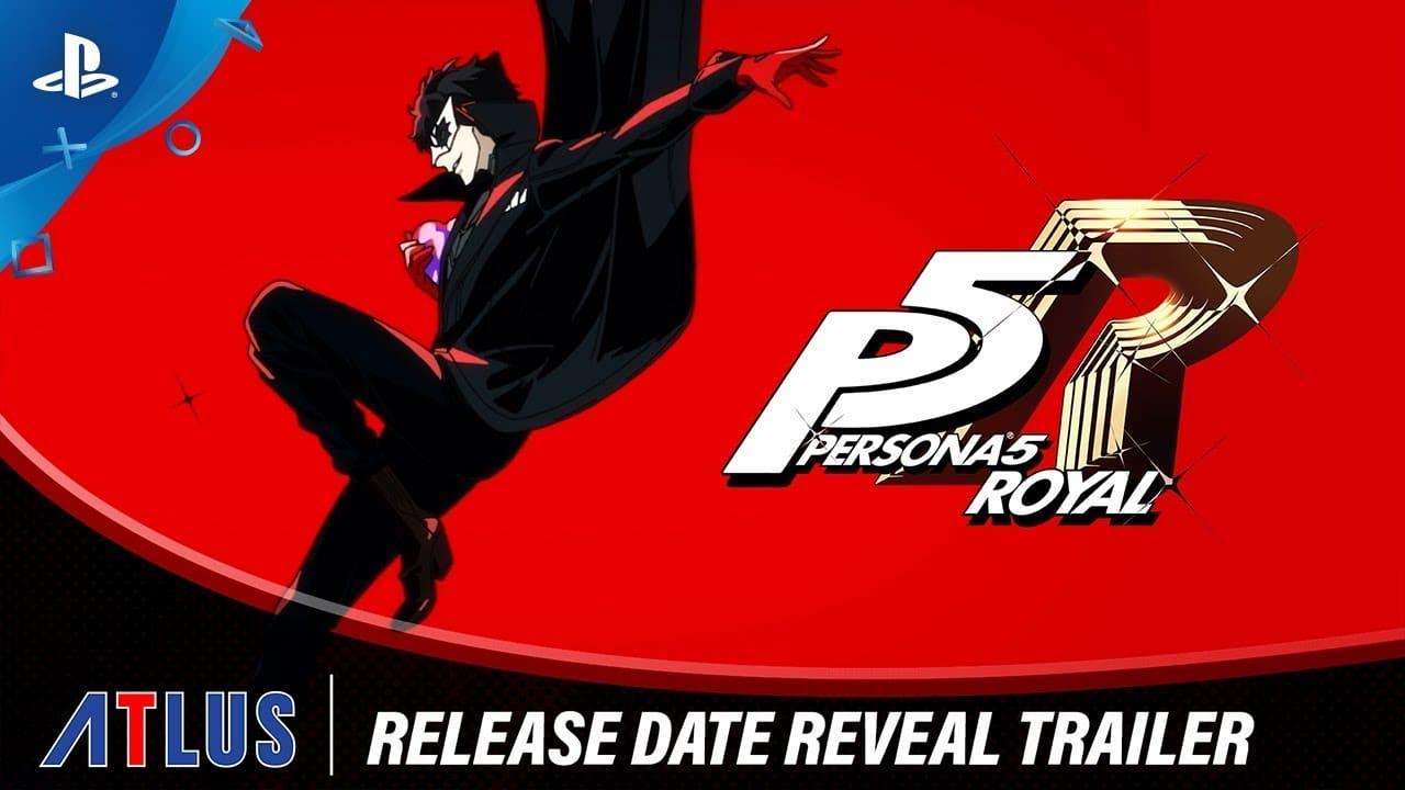 Persona 5 Royal será lançado em março para o ocidente