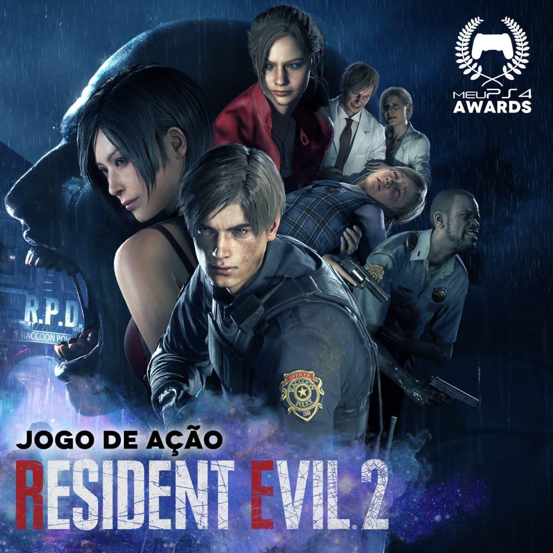 RESIDENT EVIL 2 - JOGO de ACAO