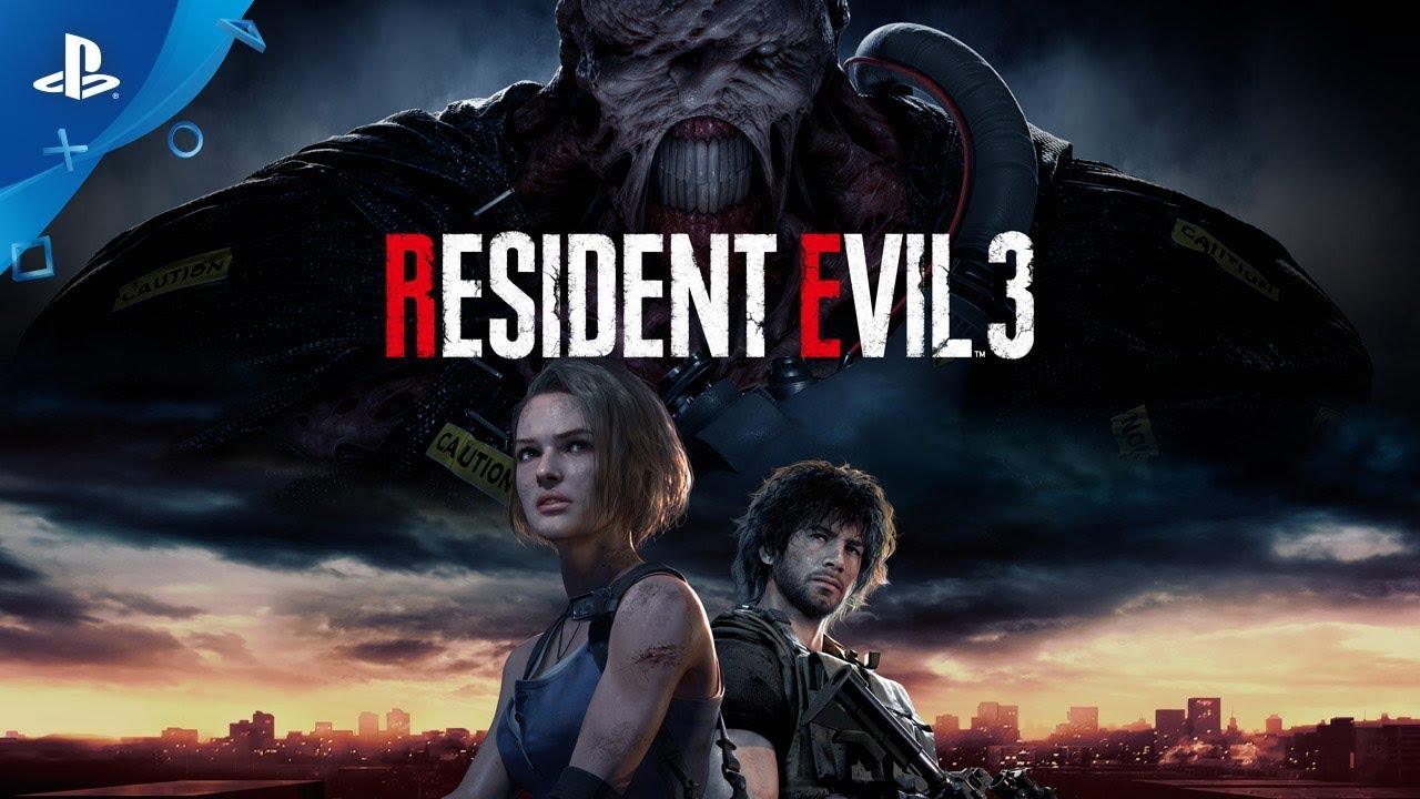 STARS: Resident Evil 3 Remake é oficialmente anunciado com trailer incrível