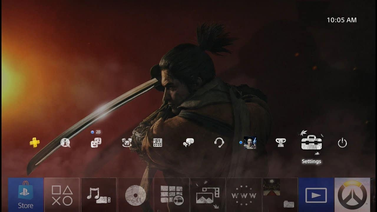 Sekiro: Shadows Die Twice gama tema dinâmico gratuito; Baixe AQUI!