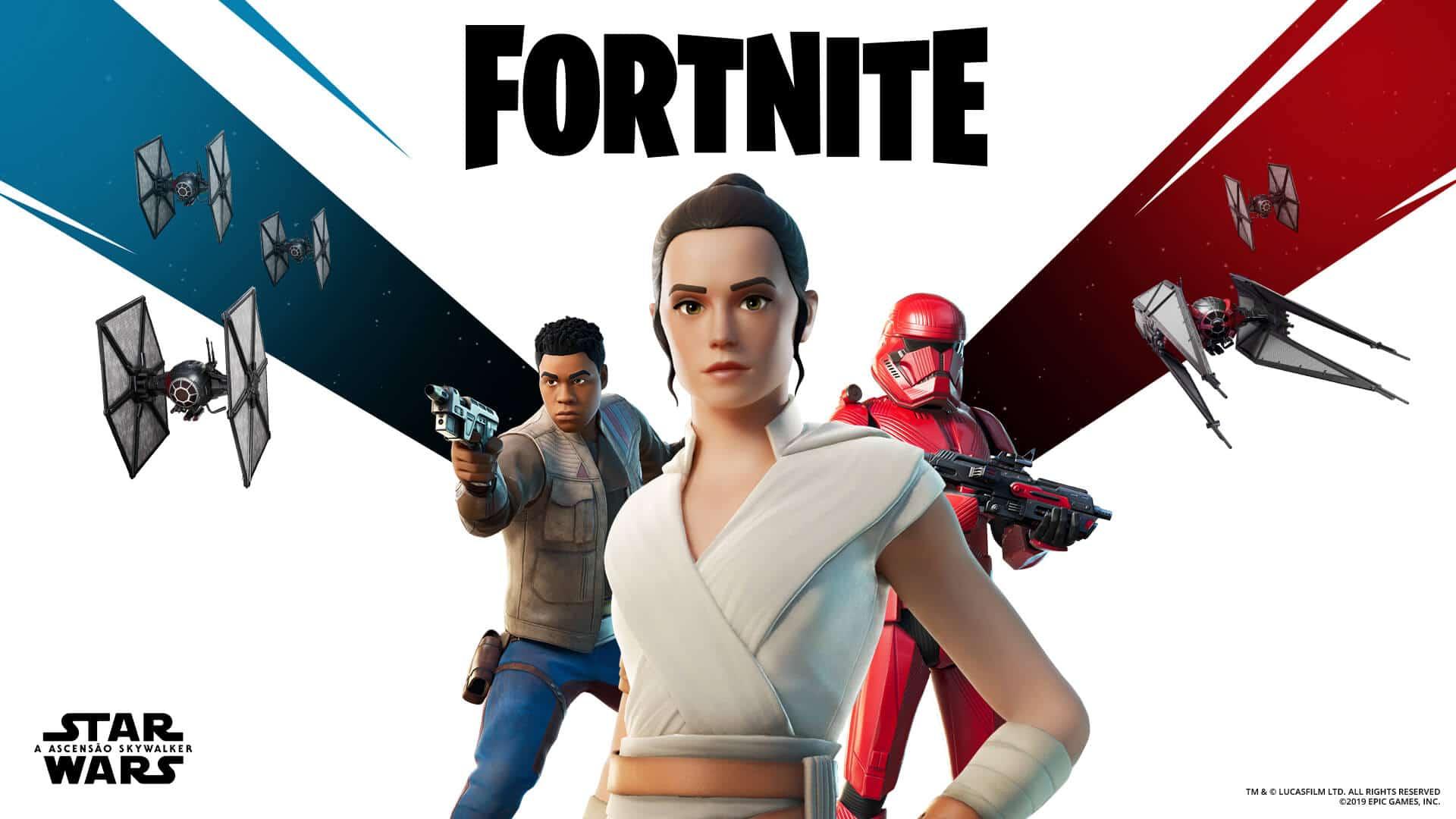 Fortnite recebe cosméticos temáticos de Star Wars: Episódio IX