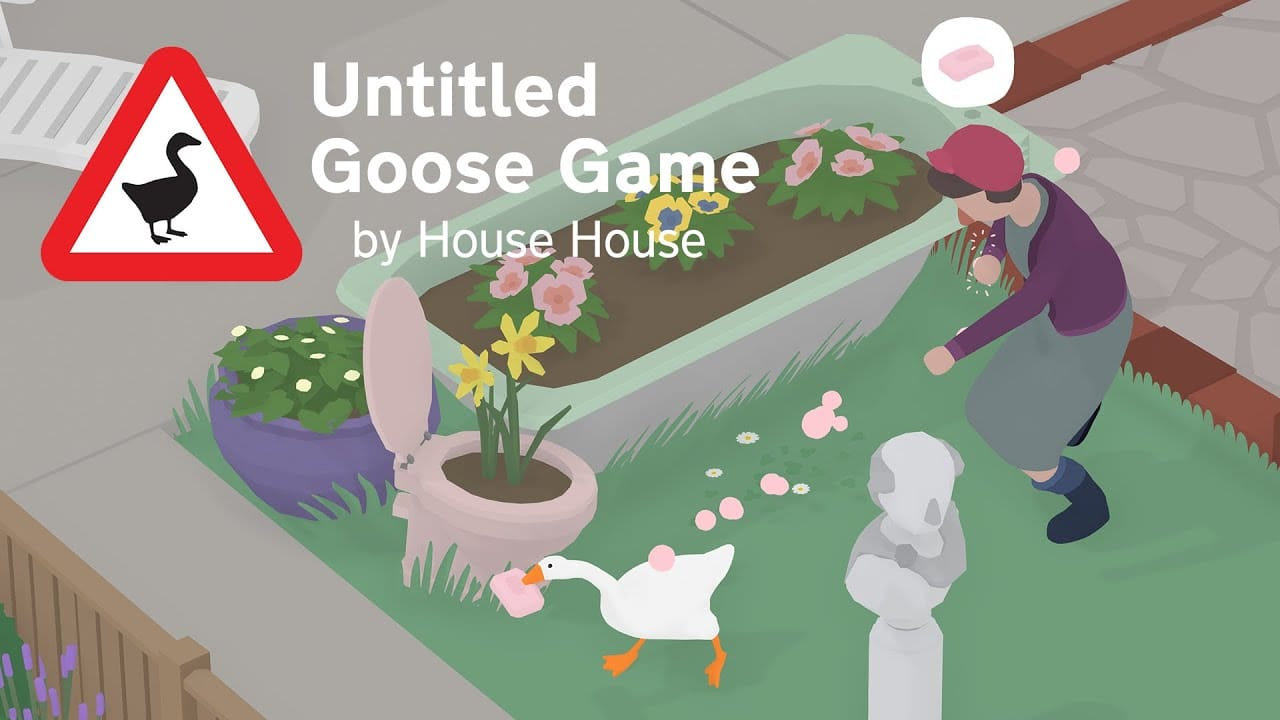 Untitled Goose Game vence prêmio de melhor jogo do ano no DICE Awards