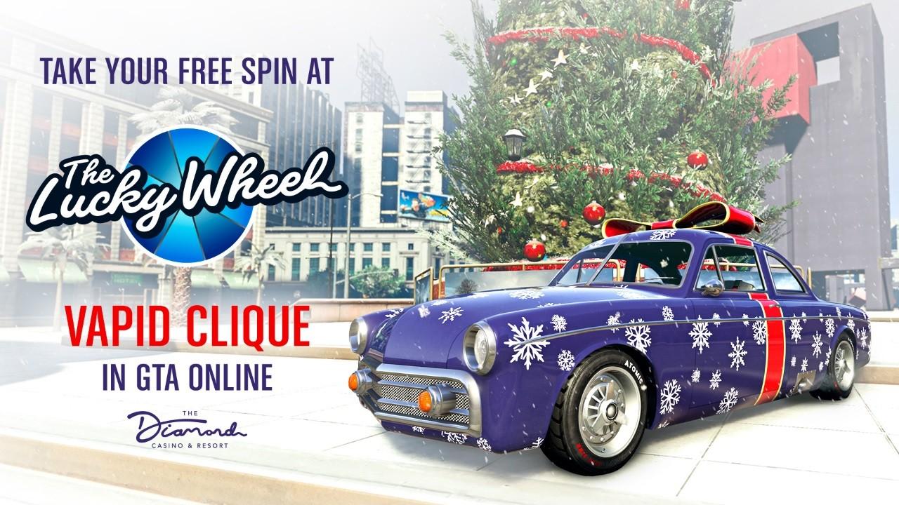 GTA Online celebra o fim de ano com presentes aos jogadores