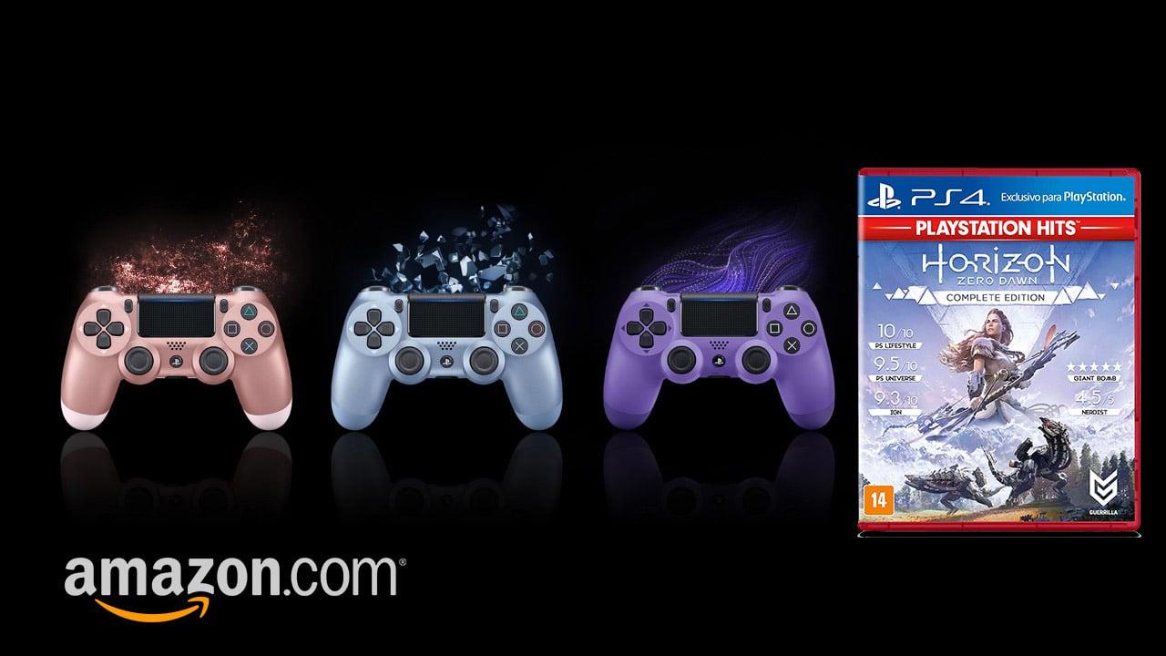 Natal na Amazon: compre um DualShock 4 e ganhe um jogo!