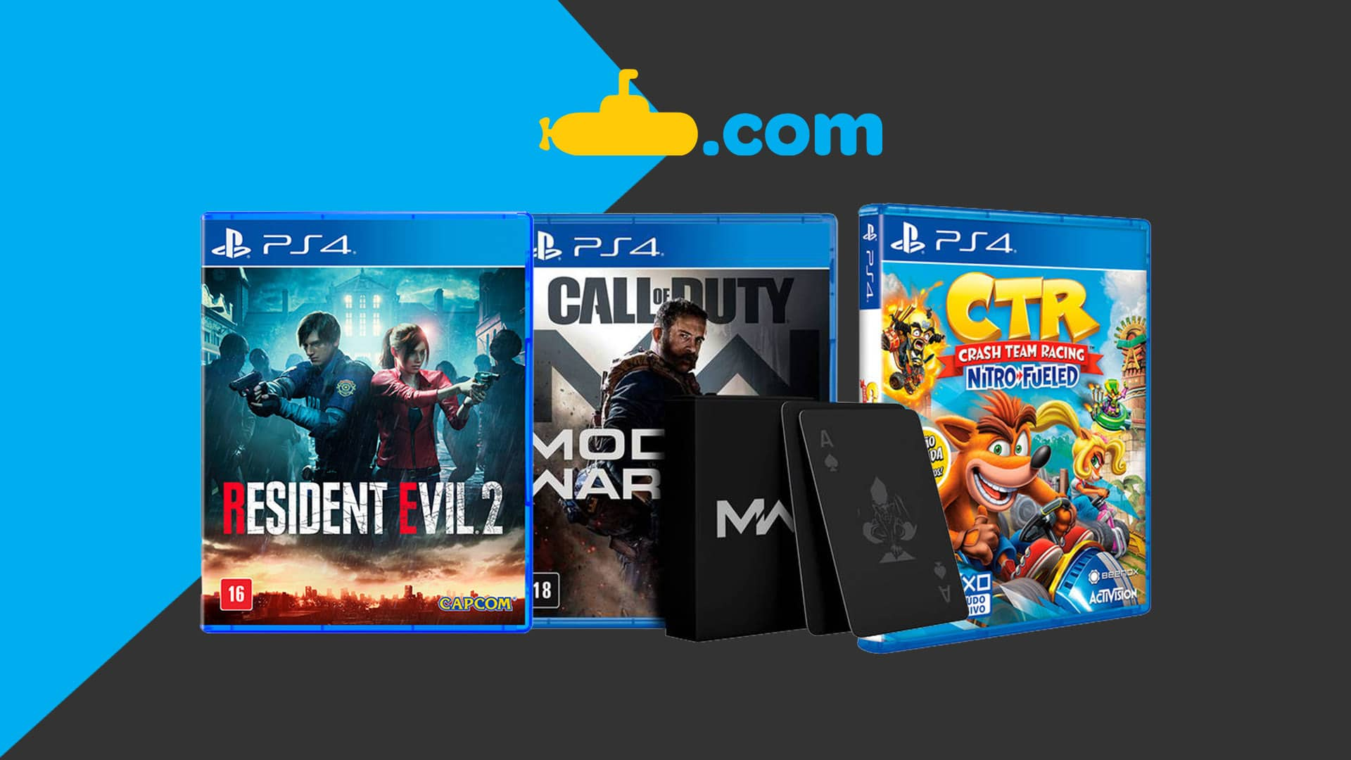 Olha o cupom! Submarino oferece 15% de descontos em jogos de PS4