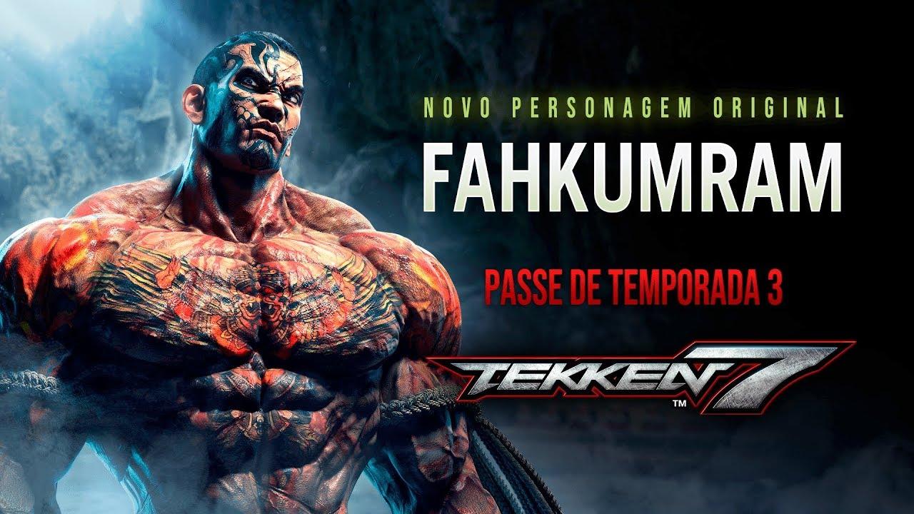 Bandai Namco anuncia novos personagens para Tekken 7