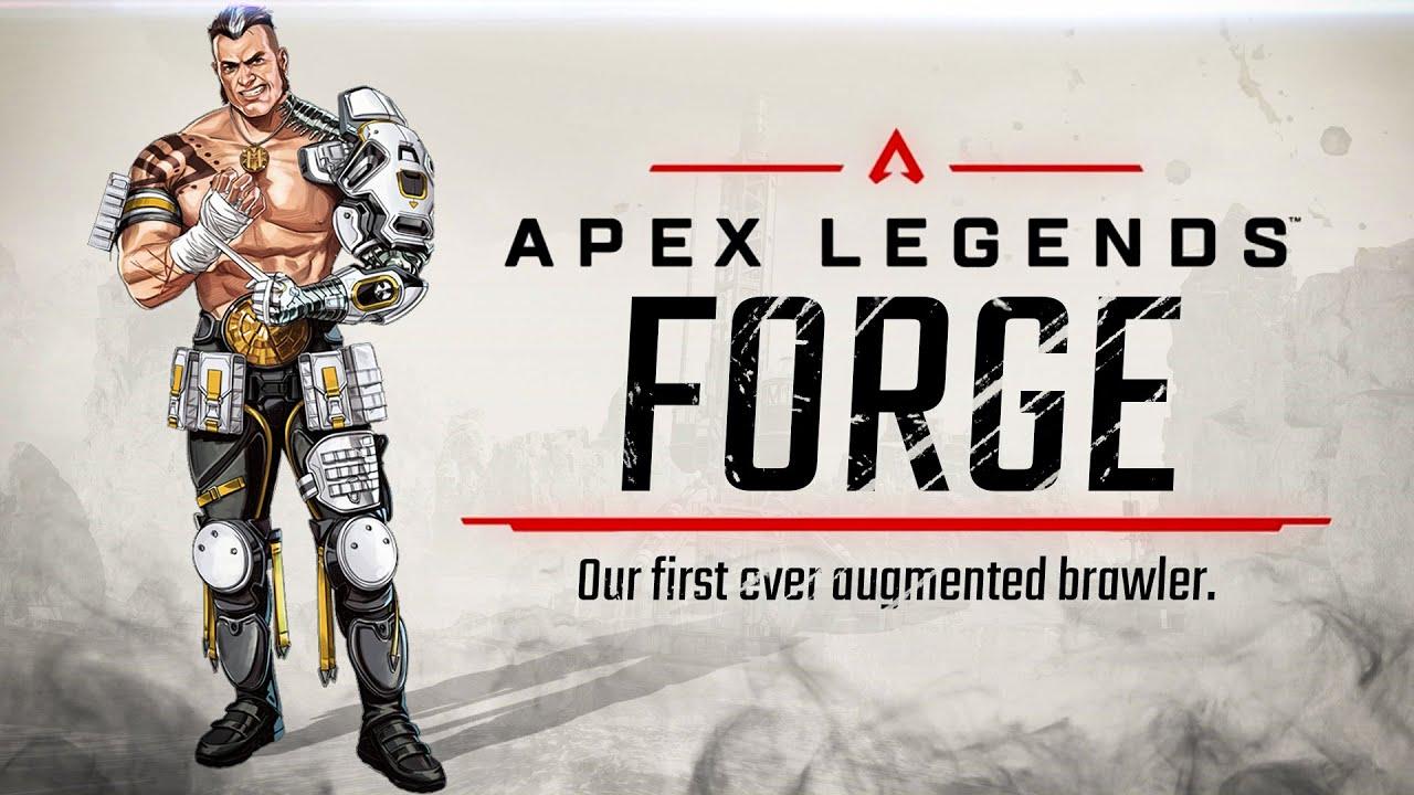 Respawn apresenta novo campeão de Apex Legends: Forge