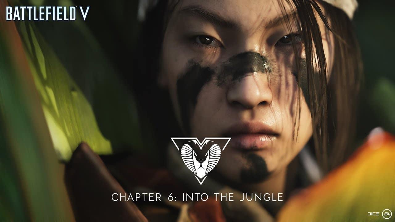 Battlefield V: novo trailer destaca o terror da guerra na selva