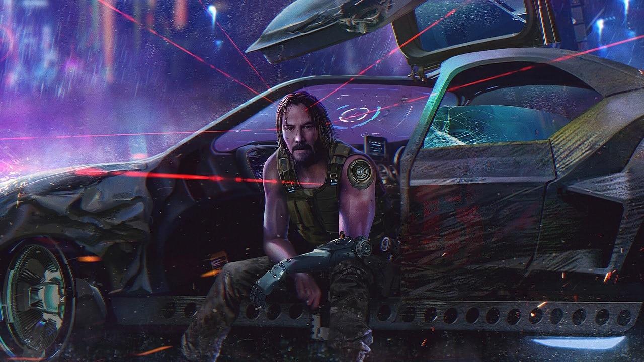 Cyberpunk 2077 ganhará linha de Pops Funko com Keanu Reeves