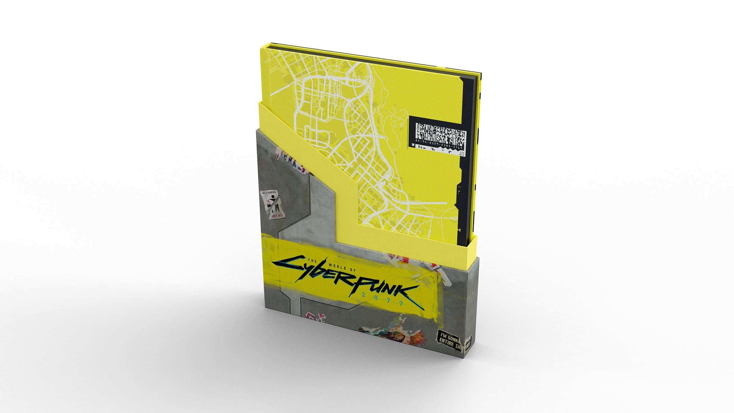 Edição especial de livro de Cyberpunk 2077 trará mapa de Night City 5