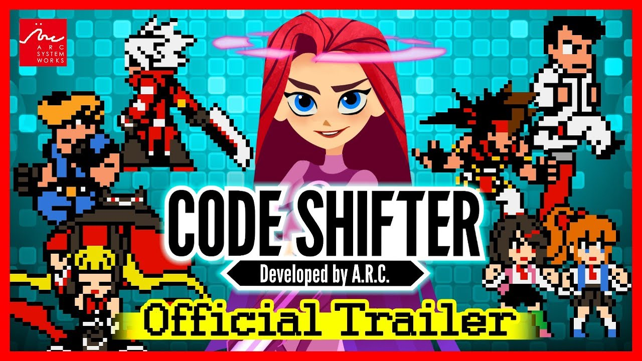 Arc System Works anuncia Code Shifter, game crossover 2D