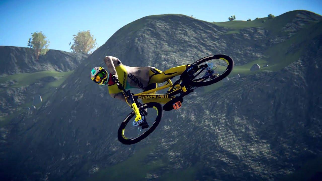 Descenders, jogo de mountain bike, chegará ao PS4 no outono