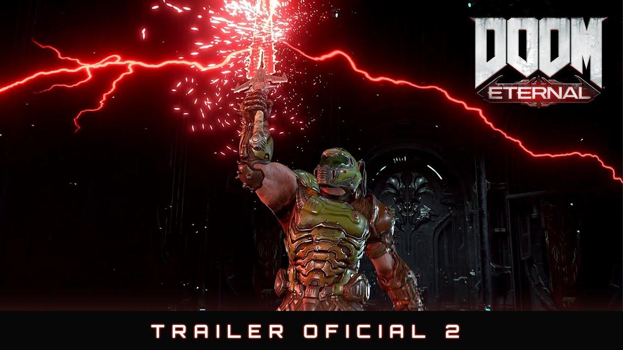 Infernal! Bethesda lança trailer frenético para DOOM Eternal