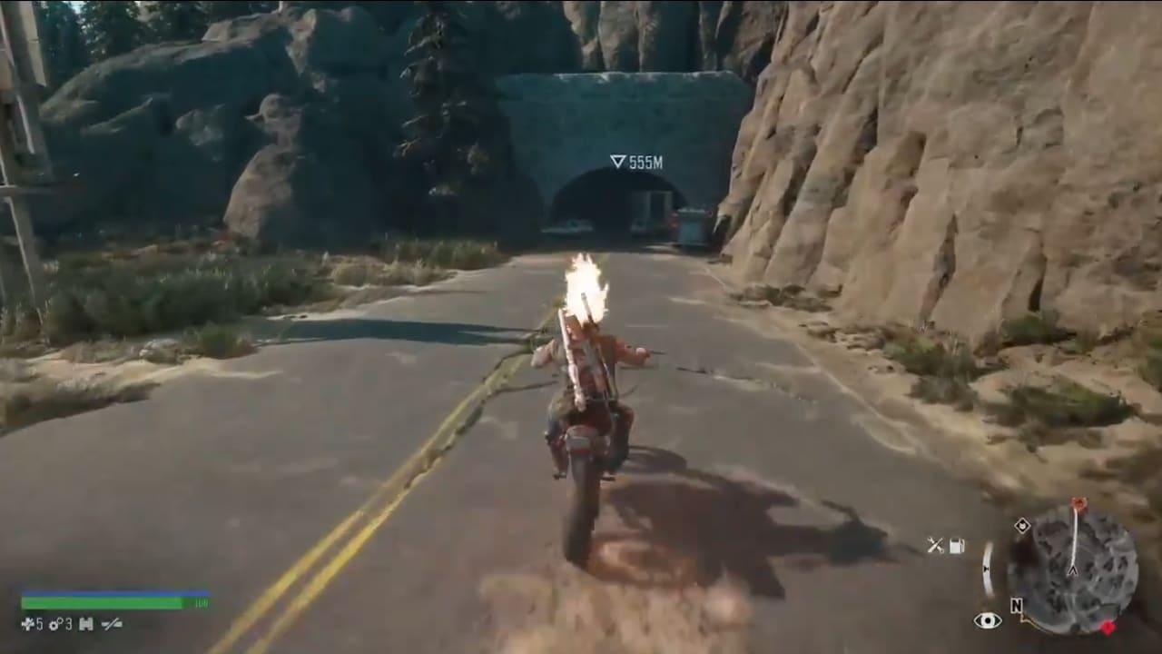 Days Gone: bug transforma Deacon no Motoqueiro Fantasma