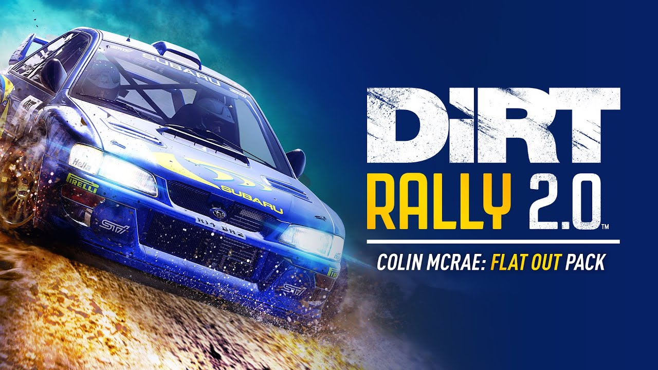 DiRT Rally 2.0 vai ganhar novo DLC inspirado em Colin McRae
