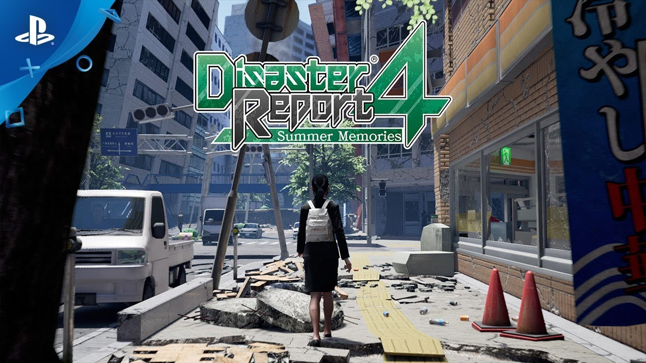 Disaster Report 4: Summer Memories chega no ocidente em abril