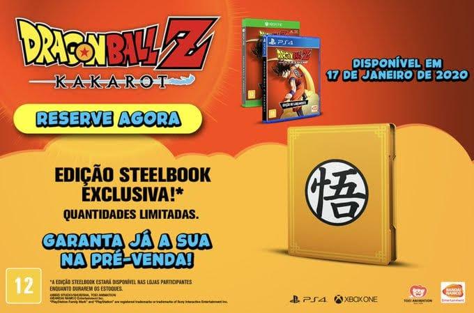 Dragon Ball Z Kakarot: edição especial com steelbook já à venda 2