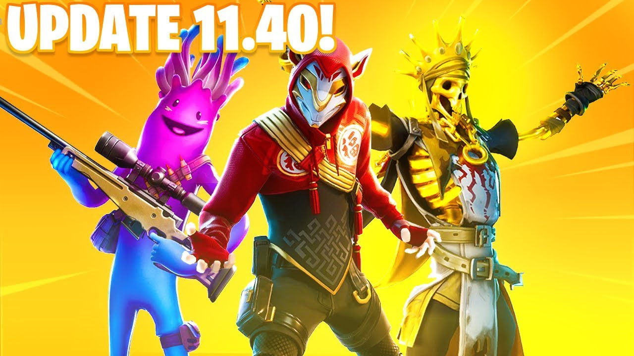 Patch de Fortnite adiciona recurso de