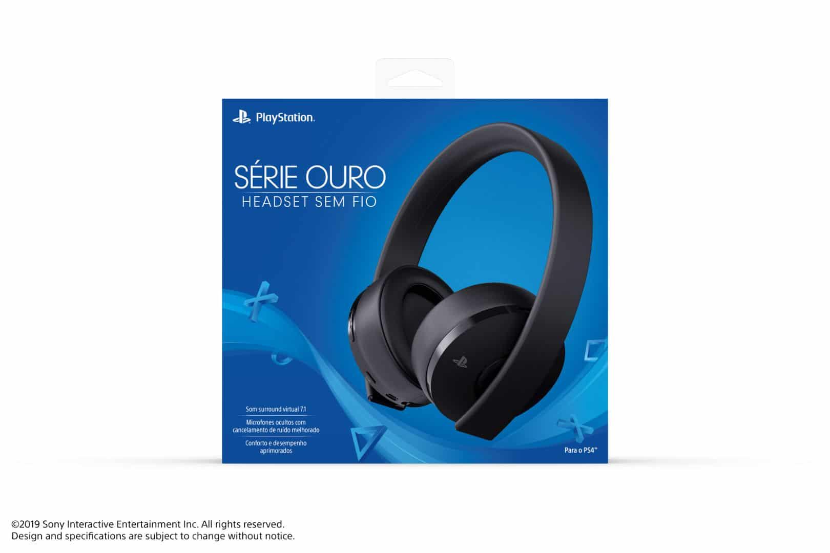 Headset PlayStation Série Ouro chega oficialmente ao Brasil por R$ 499 6