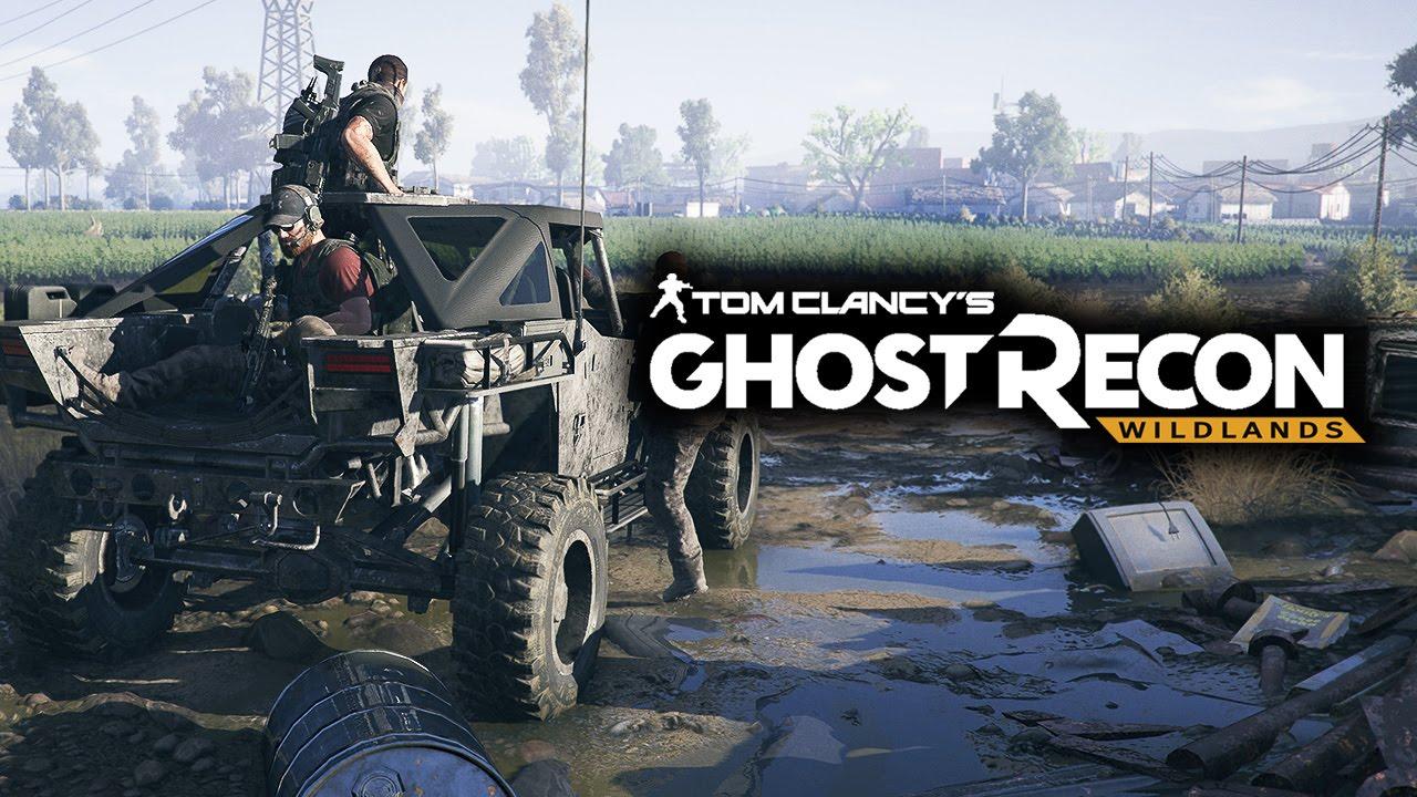 Ghost Recon Wildlands recebe atualização de 24 GB