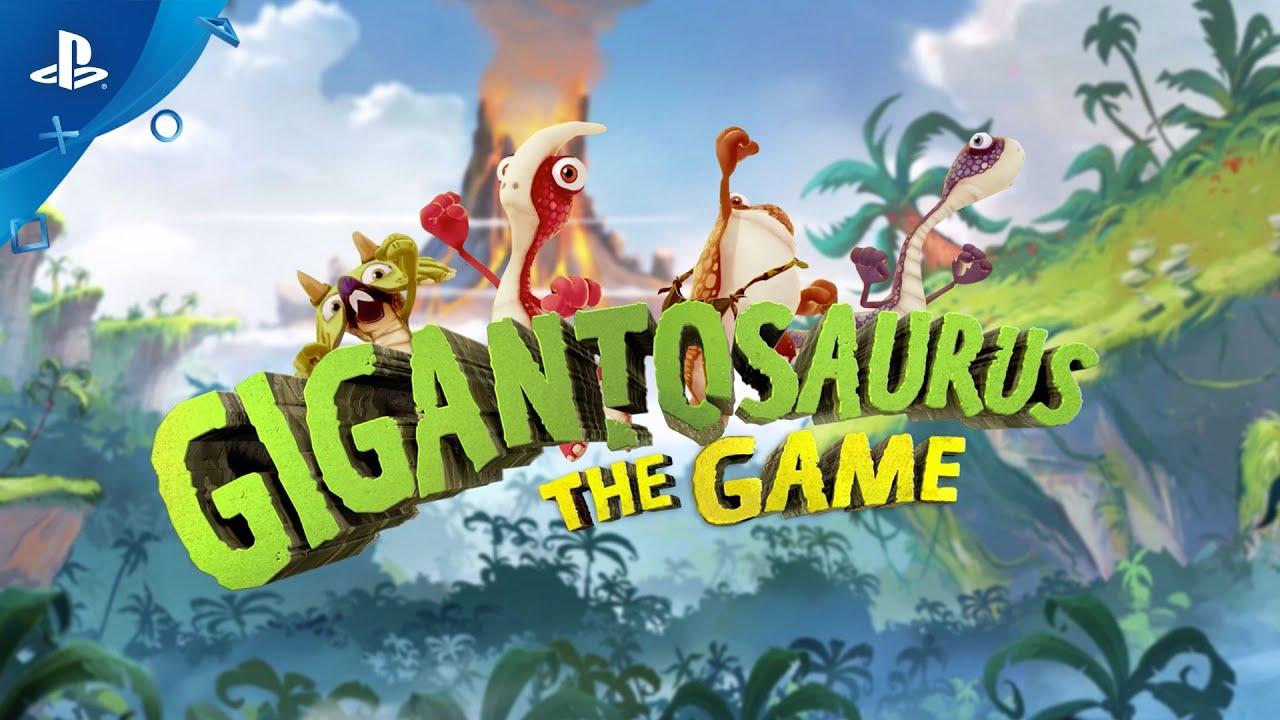 Pré-histórico: Gigantosaurus The Game é anunciado para PS4