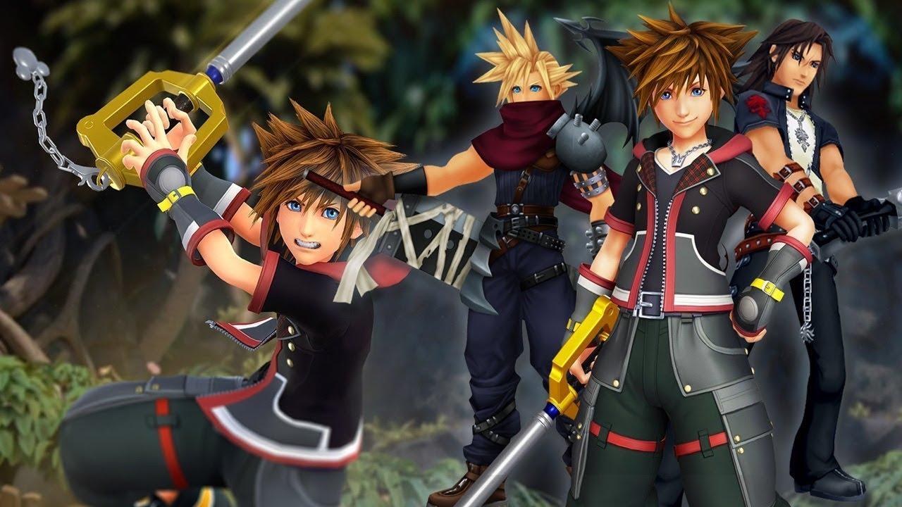 Diretor de Kingdom Hearts 3 explica ausência de personagens de Final Fantasy