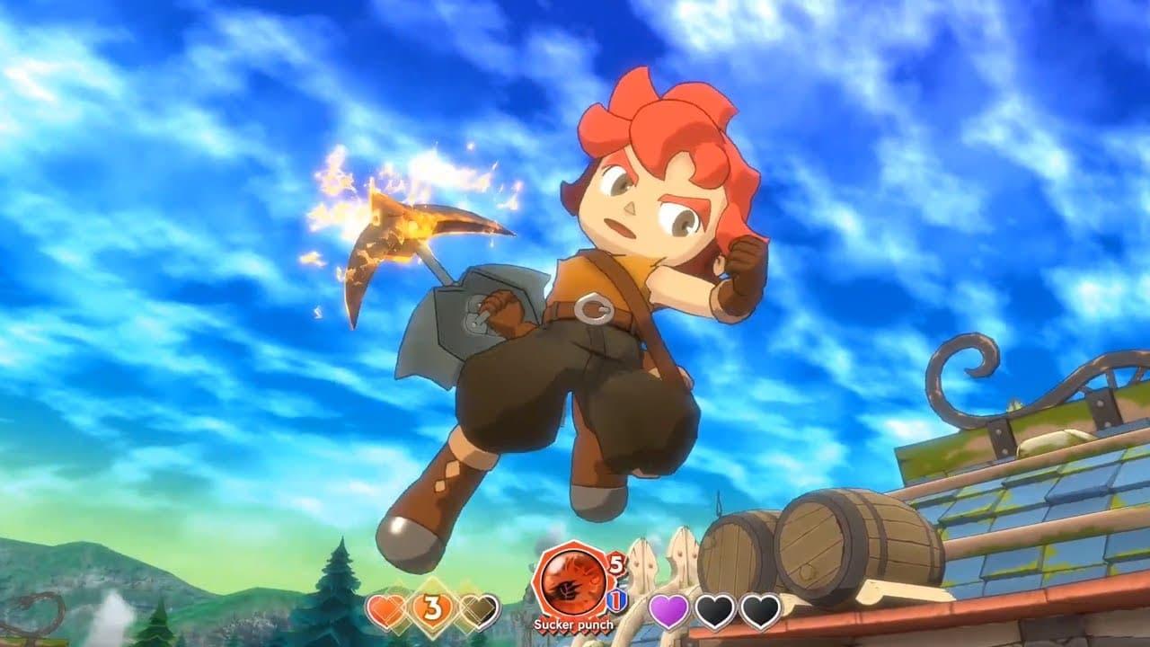 Little Town Hero chegará ao PS4 no dia 23 de abril