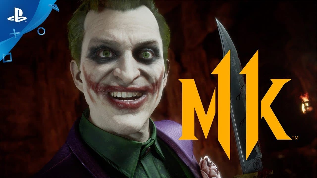 Why so serious? Coringa recebe gameplay em Mortal Kombat 11