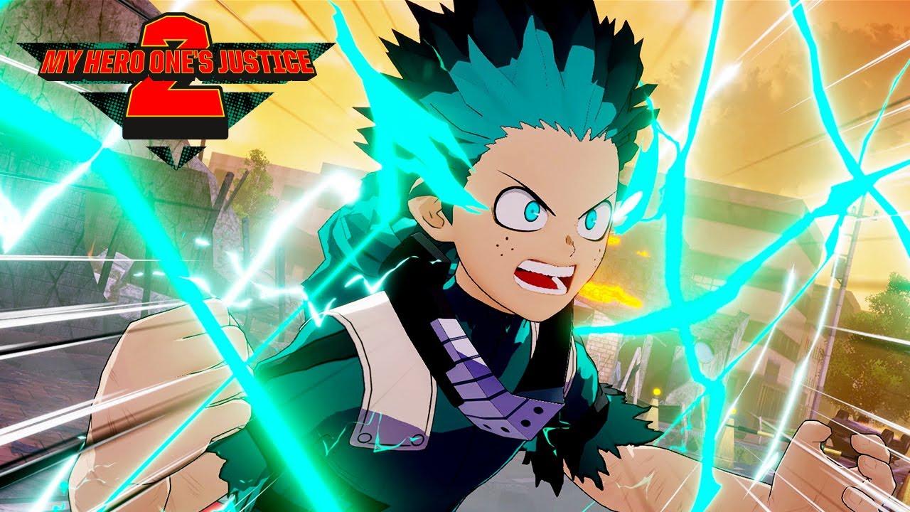 My Hero One's Justice 2 ganha novo trailer de jogabilidade