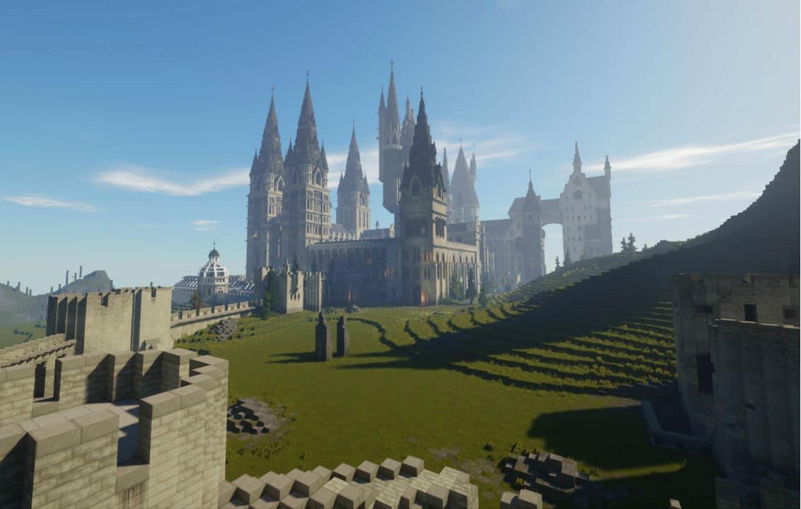 Minecraft: modders reproduzem Hogwarts com precisão e magia