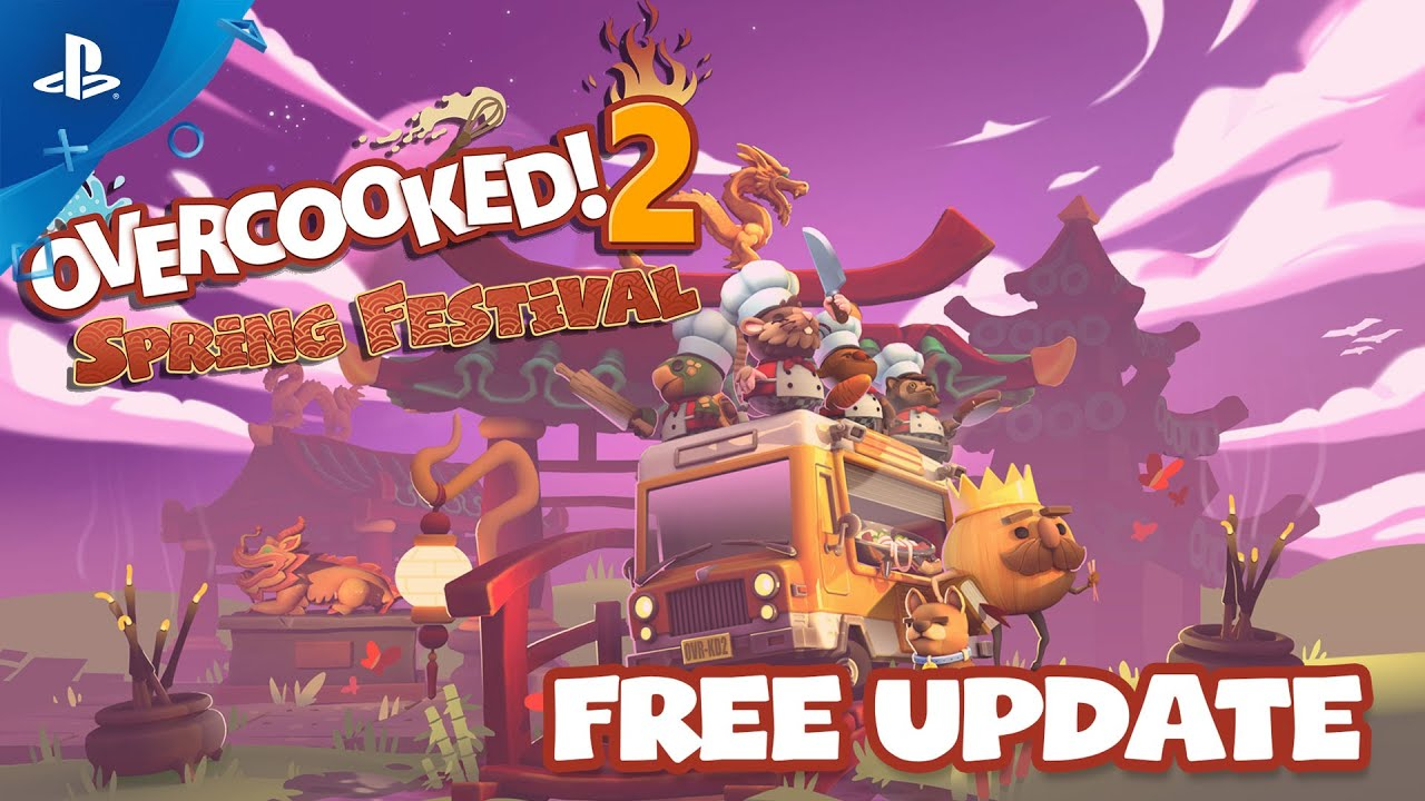 Update gratuito de Overcooked! 2 traz novas fases e chefs