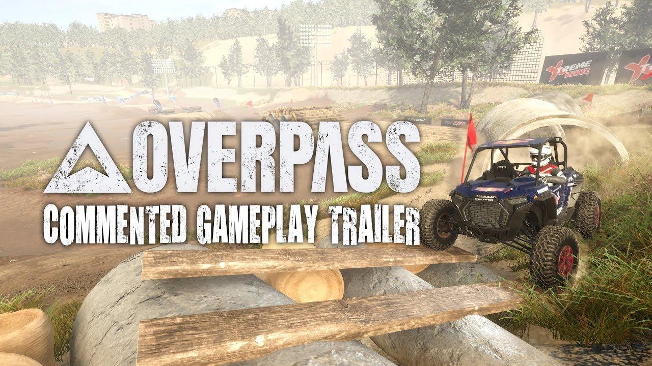 Overpass ganha novo gameplay com muita poeira e desafios