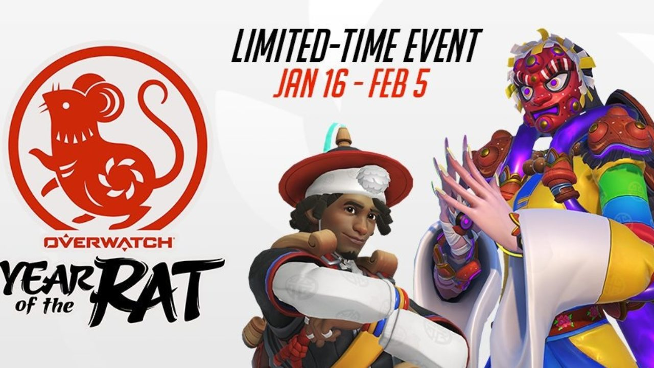 Overwatch terá evento inspirado no ano novo chinês
