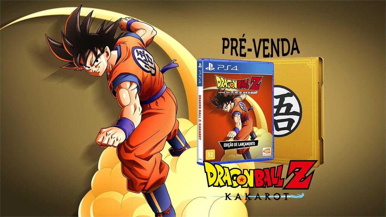 Dragon Ball Z Kakarot: edição especial com steelbook já à venda
